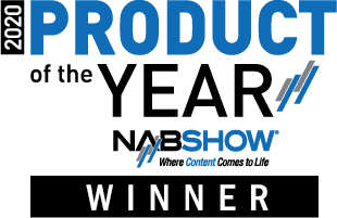 NAB Show 2020 Product of the year Award