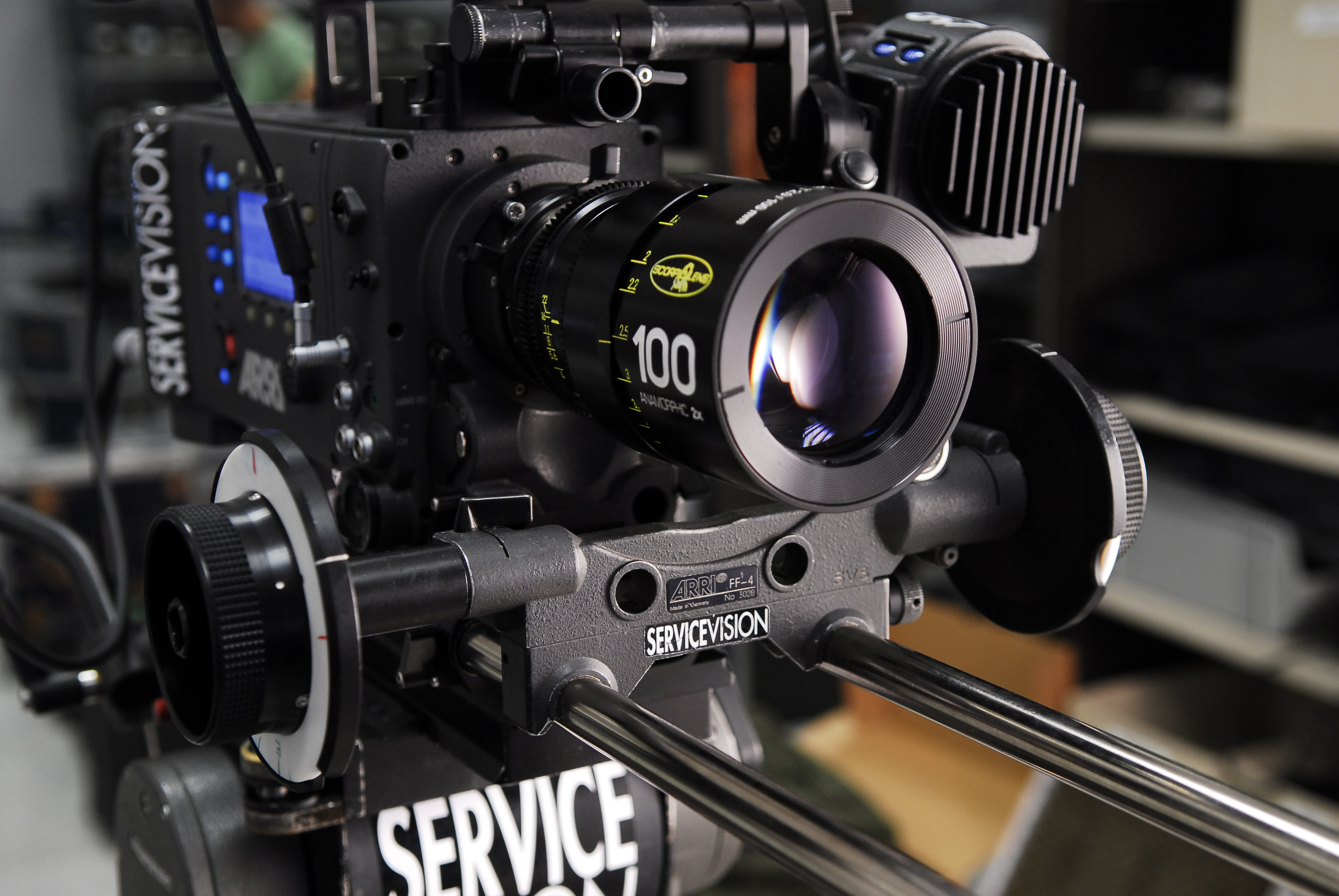 Scorpiolens ANAMORPHIC 2x | Servicevision Bis